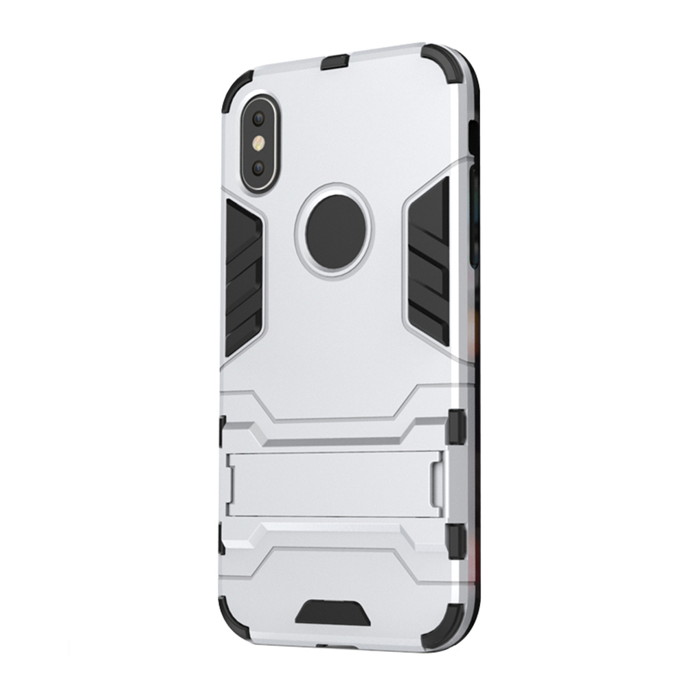 Case for iPhone X with Stand Back Cover Solid Colored Hard PC - 16643545 , 6778652447460 , 62_27370463 , 156000 , Case-for-iPhone-X-with-Stand-Back-Cover-Solid-Colored-Hard-PC-62_27370463 , tiki.vn , Case for iPhone X with Stand Back Cover Solid Colored Hard PC
