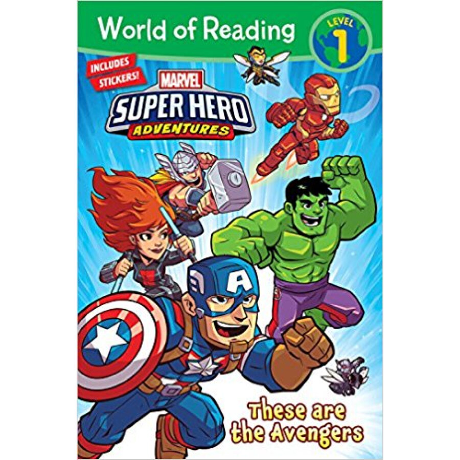 World of Reading Marvel Super Hero Adventures: These are the Avengers - 1239391 , 4398490697722 , 62_5278433 , 138000 , World-of-Reading-Marvel-Super-Hero-Adventures-These-are-the-Avengers-62_5278433 , tiki.vn , World of Reading Marvel Super Hero Adventures: These are the Avengers