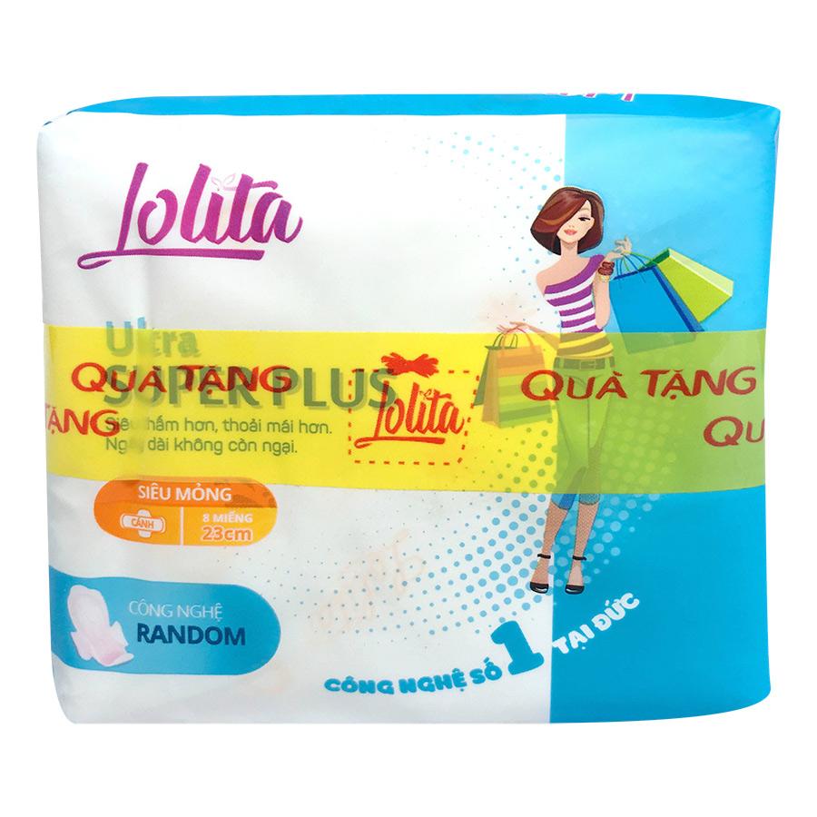 Băng Vệ Sinh Lolita Ultra Super Plus Siêu Thấm (8 Miếng) Tặng Kèm Bịch 2 Miếng Băng Vệ Sinh Lady - 1294816 , 6726103137590 , 62_14257397 , 16000 , Bang-Ve-Sinh-Lolita-Ultra-Super-Plus-Sieu-Tham-8-Mieng-Tang-Kem-Bich-2-Mieng-Bang-Ve-Sinh-Lady-62_14257397 , tiki.vn , Băng Vệ Sinh Lolita Ultra Super Plus Siêu Thấm (8 Miếng) Tặng Kèm Bịch 2 Miếng Băng