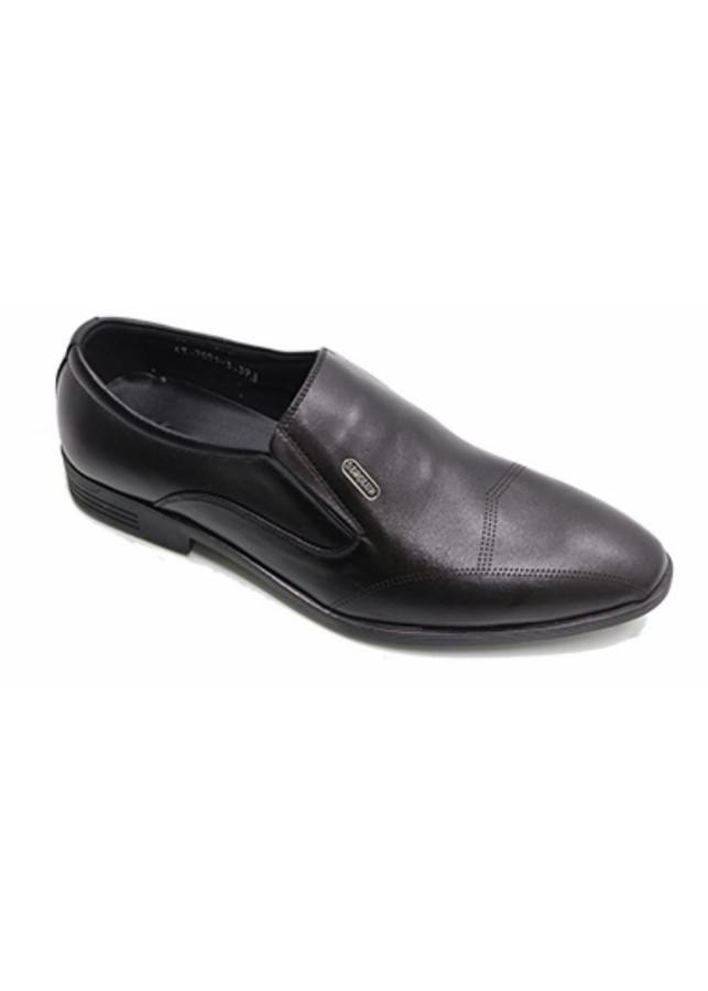Giày Tây Nam Công Sở Trơn 01 - Đen