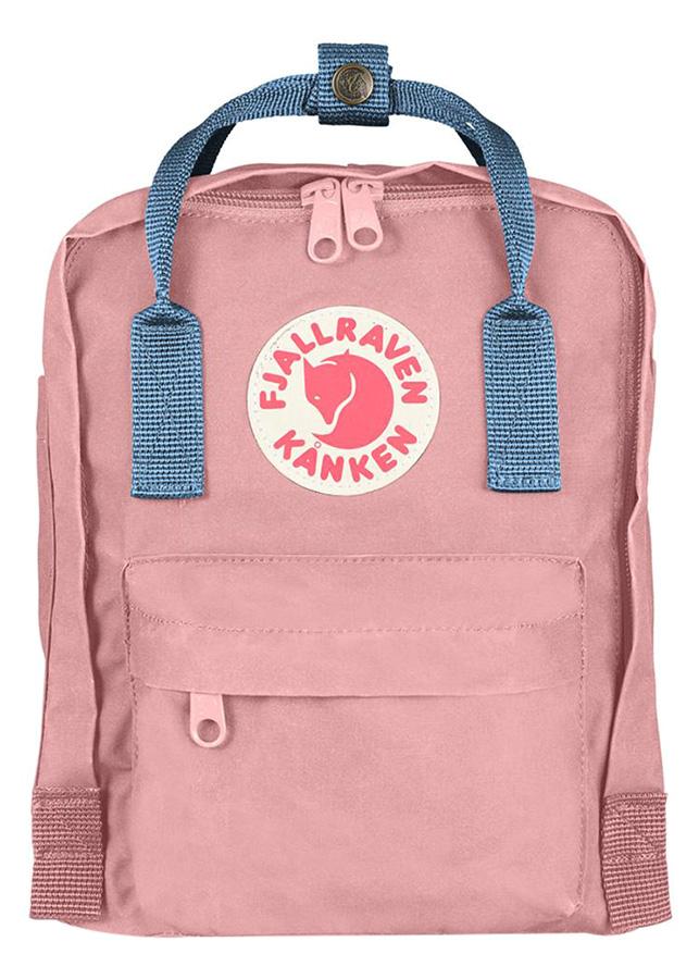 Balo Kanken Mini Fjallraven - Pink/ Air Blue- 23561-312-508