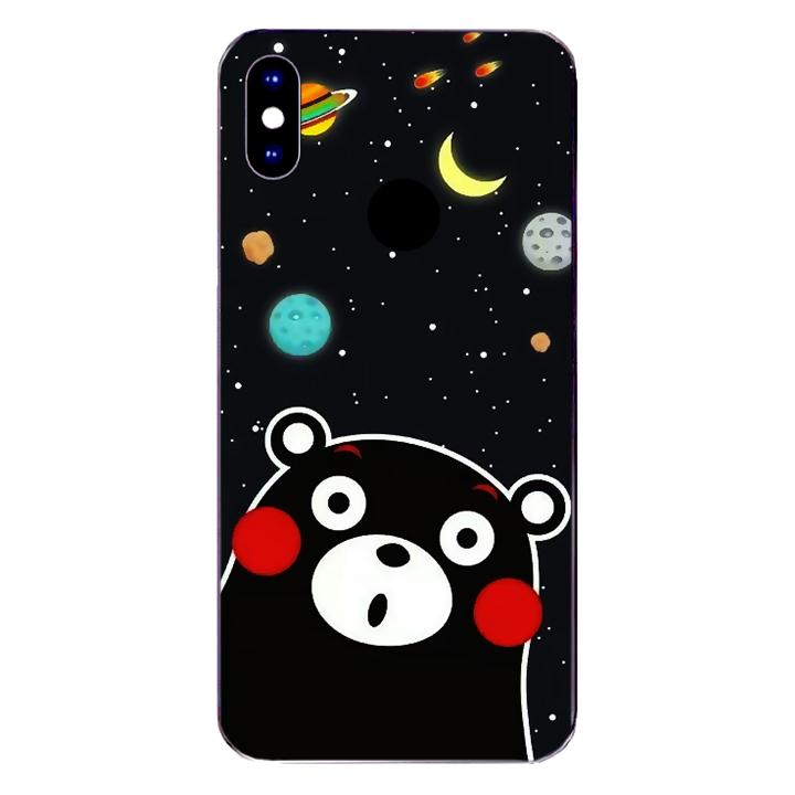 Ốp lưng dẻo Nettacase cho điện thoại Xiaomi Mi A2_0345 BEAR03 - Hàng Chính Hãng
