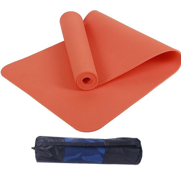 Thảm yoga 8mm 1 lớp TPE( tặng túi lưới +Dây buộc) - 2315101 , 5542597004399 , 62_14924016 , 400000 , Tham-yoga-8mm-1-lop-TPE-tang-tui-luoi-Day-buoc-62_14924016 , tiki.vn , Thảm yoga 8mm 1 lớp TPE( tặng túi lưới +Dây buộc)