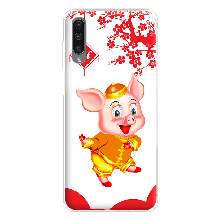 Ốp lưng dẻo cho điện thoại Samsung Galaxy A50 - 224 0053 PIG2019