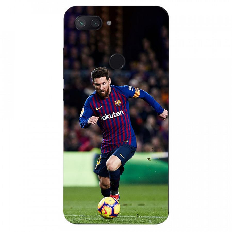 Ốp Lưng Dành Cho Xiaomi Mi 8 Lite-Ảnh Messi-Ốp Cứng Viền Dẻo Cao Cấp ,Chính Hiệu Fedoli