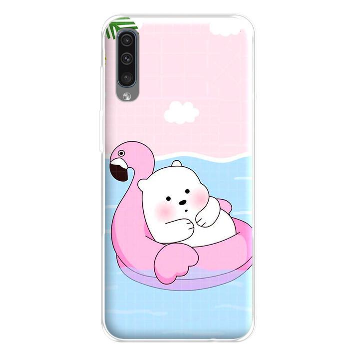 Ốp lưng dẻo cho điện thoại Samsung Galaxy A50 - 224 0056 RELAX01