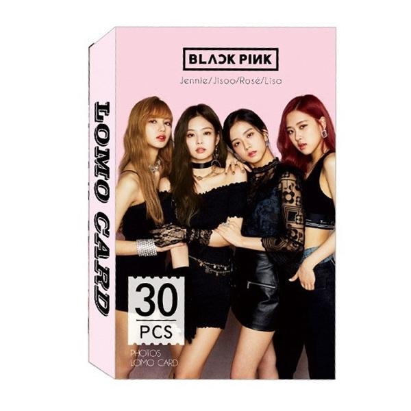 Bộ lomo card BLACK PINK mới
