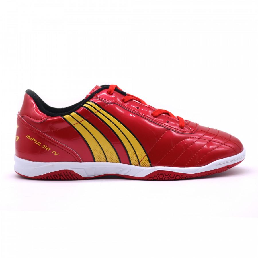 Giày đá banh Pan Impulse IV IC đỏ (có khâu mũi)