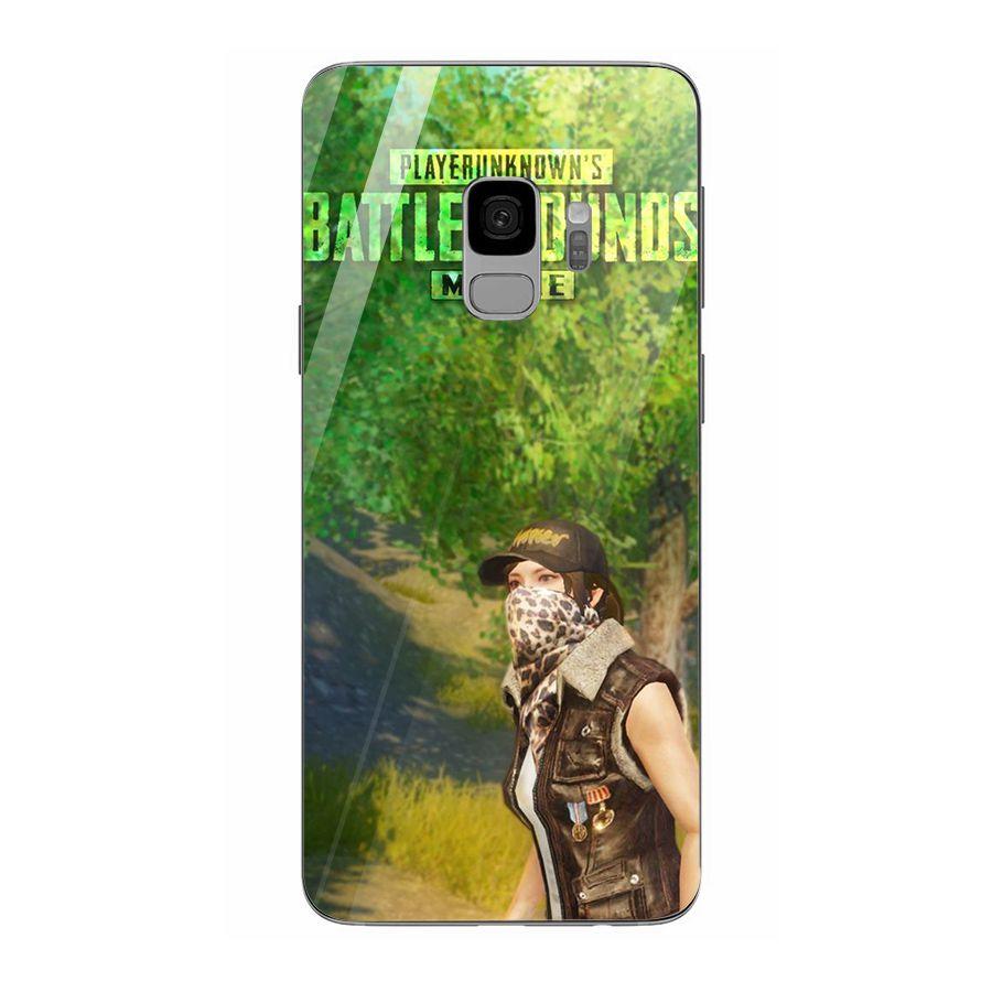 Ốp kính cường lực dành cho điện thoại Samsung Galaxy S9 - pubg mobile ban sung - pubg023
