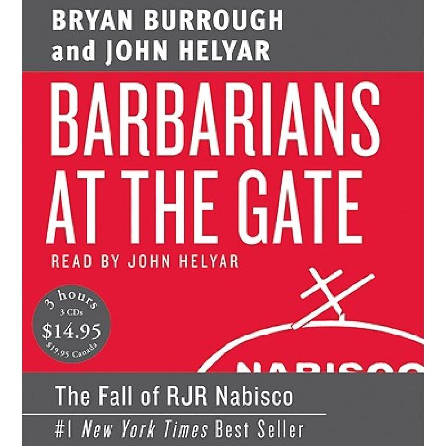 Barbarians at the Gate [Audio CD] - 1227810 , 9045859277099 , 62_5243823 , 1835000 , Barbarians-at-the-Gate-Audio-CD-62_5243823 , tiki.vn , Barbarians at the Gate [Audio CD]