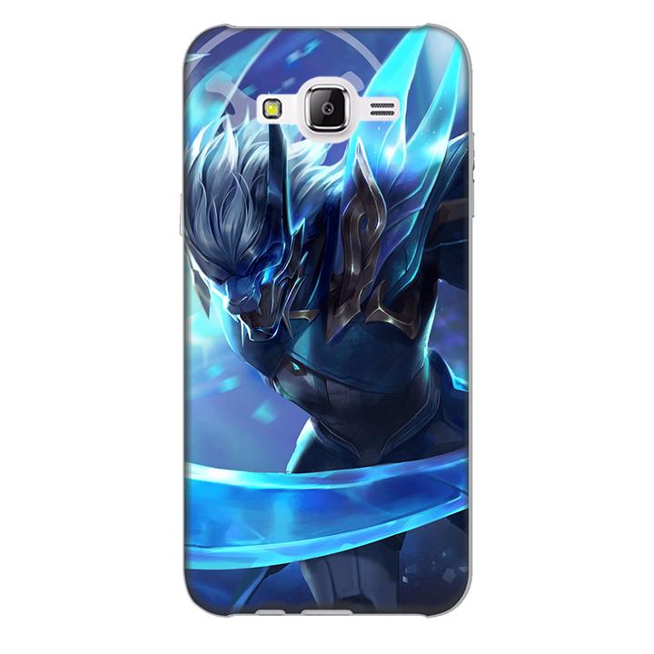 Ốp lưng nhựa cứng nhám dành cho Samsung Galaxy J7 in hình Nakroth Khieu Chien AIC
