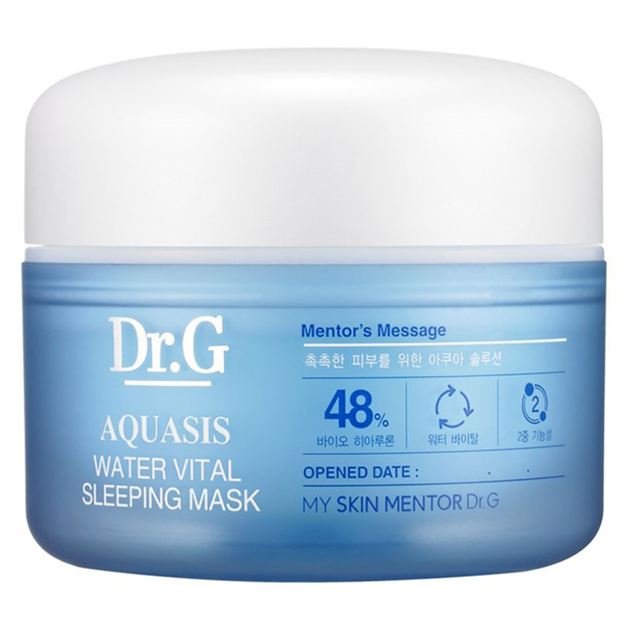 Mặt Nạ Ngủ Dưỡng Ẩm Dr.G Aquasis Water Vital Sleeping Mask MM17 (80ml)