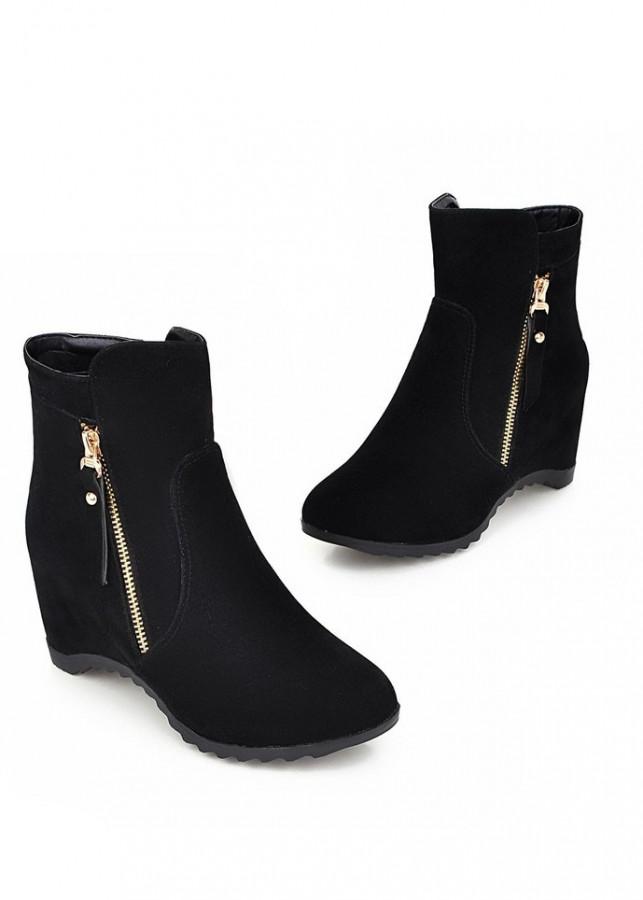 Giày boot nữ cao cấp cá tính B125