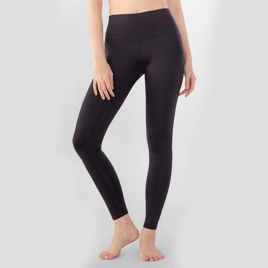 Quần Thể Thao Nữ Women High-Waist Pants Black