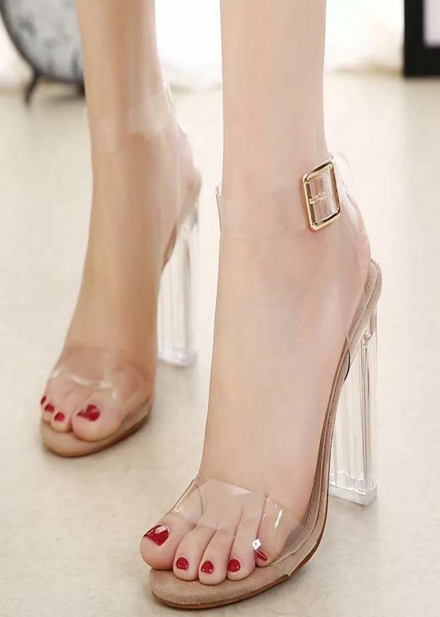 Giày cao gót quai trong cao cấp DS026 - 1968335 , 3627549512343 , 62_14878253 , 250000 , Giay-cao-got-quai-trong-cao-cap-DS026-62_14878253 , tiki.vn , Giày cao gót quai trong cao cấp DS026