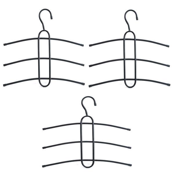 Combo 3 móc treo quần áo 3 tầng tiện dụng