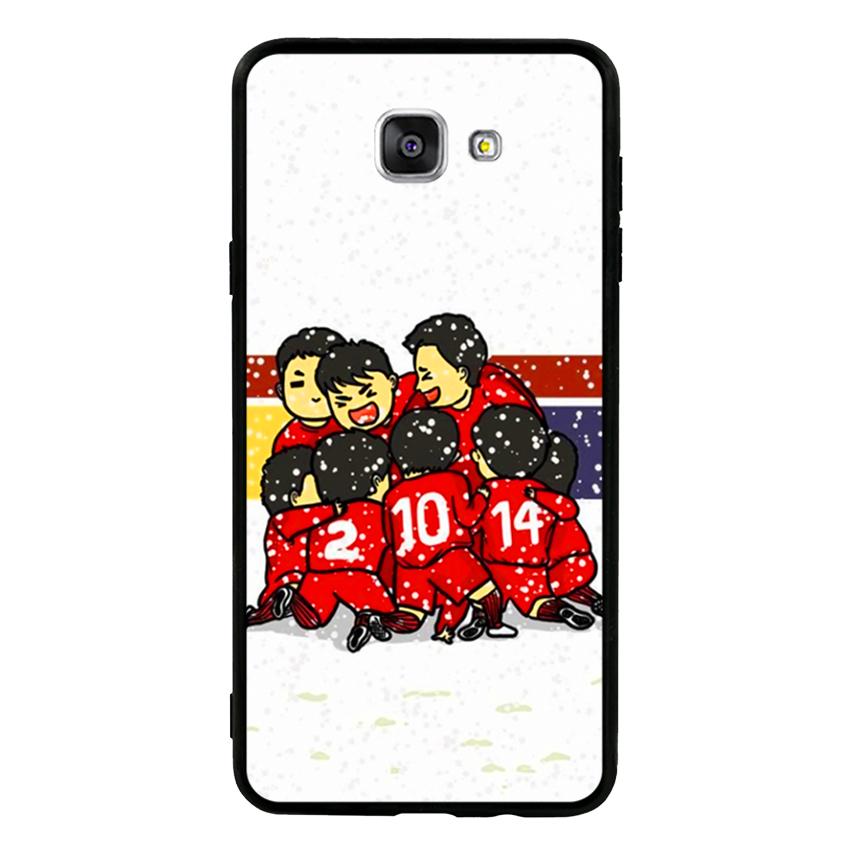 Ốp Lưng Viền TPU Cao Cấp Dành Cho Samsung Galaxy A9 Pro - U23 Mẫu 2