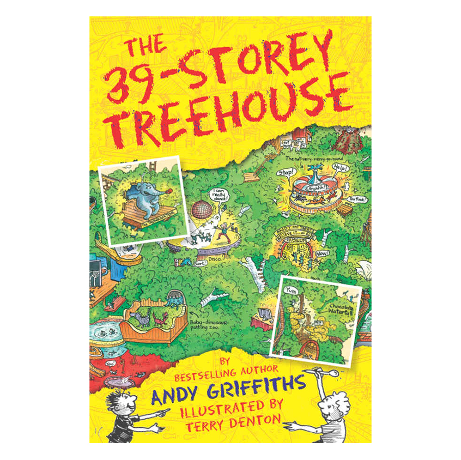The 39-Storey Treehouse: The Treehouse Books