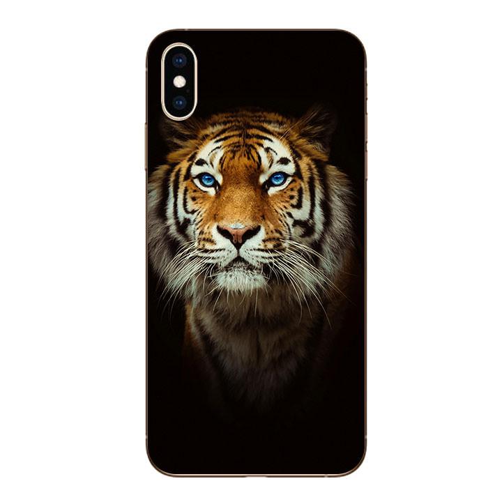 Ốp lưng dẻo cho Iphone XS Max - Tiger 04