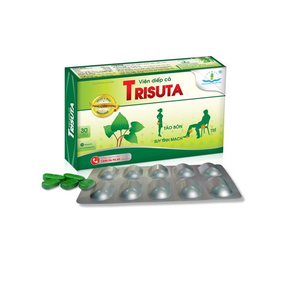 Viên giấp cá Trisuta hỗ trợ hết táo bón, tiêu trĩ - 9610251 , 9835831418080 , 62_19397948 , 91000 , Vien-giap-ca-Trisuta-ho-tro-het-tao-bon-tieu-tri-62_19397948 , tiki.vn , Viên giấp cá Trisuta hỗ trợ hết táo bón, tiêu trĩ