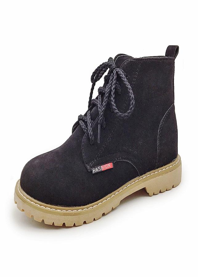 Giày bốt nữ cố thấp phong cách  trẻ - XS0461