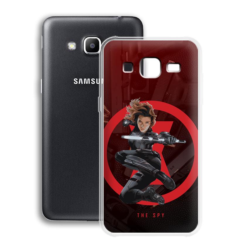 Ốp lưng cho điện thoại Samsung Galaxy J2 prime/ Grand Prime - 01040 0538 SPY01 - Silicone dẻo - Hàng Chính Hãng