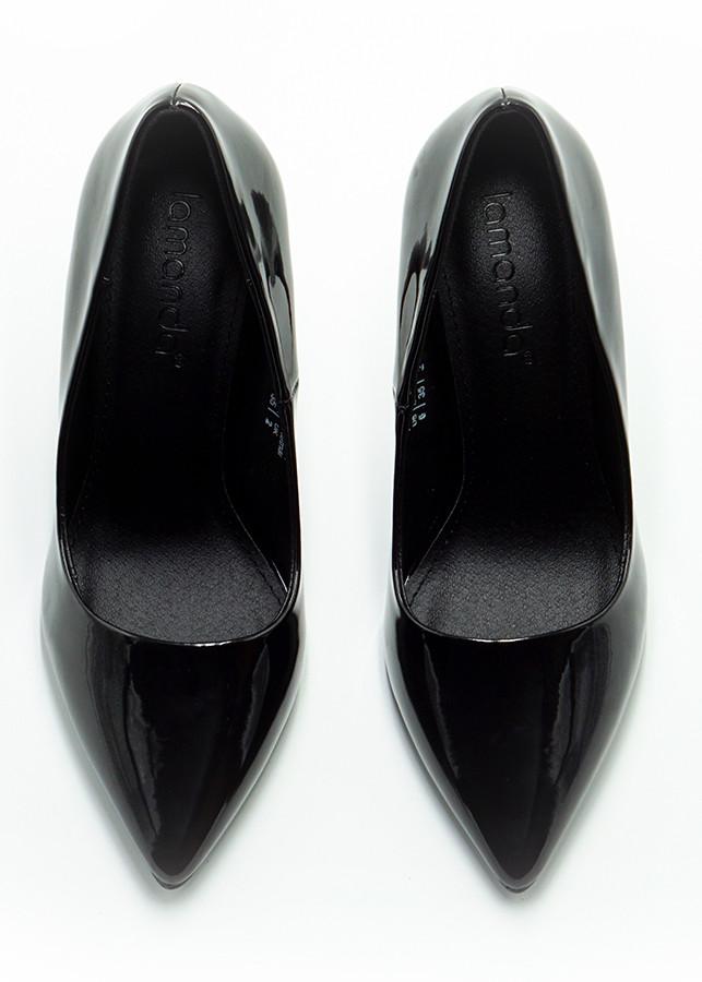 Decapella - giày cao gót Lamanda 10cm mũi nhọn trơn bóng màu đen - 816307 , 2294711948739 , 62_10596934 , 545000 , Decapella-giay-cao-got-Lamanda-10cm-mui-nhon-tron-bong-mau-den-62_10596934 , tiki.vn , Decapella - giày cao gót Lamanda 10cm mũi nhọn trơn bóng màu đen