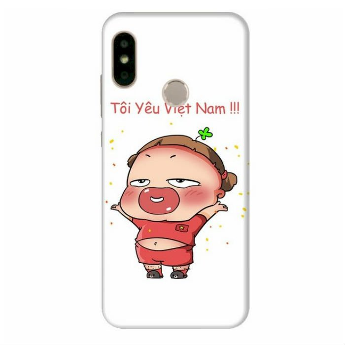 Ốp Lưng Dành Cho Xiaomi Mi A2 Quynh Aka 1