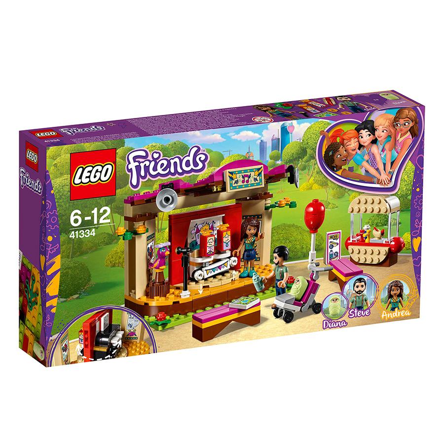 Bộ Lắp Ráp Buổi Biểu Diễn Nghệ Thuật Của Andrea LEGO FRIENDS 41334 (229 chi tiết) - 1003229 , 5191858027372 , 62_2783727 , 949000 , Bo-Lap-Rap-Buoi-Bieu-Dien-Nghe-Thuat-Cua-Andrea-LEGO-FRIENDS-41334-229-chi-tiet-62_2783727 , tiki.vn , Bộ Lắp Ráp Buổi Biểu Diễn Nghệ Thuật Của Andrea LEGO FRIENDS 41334 (229 chi tiết)