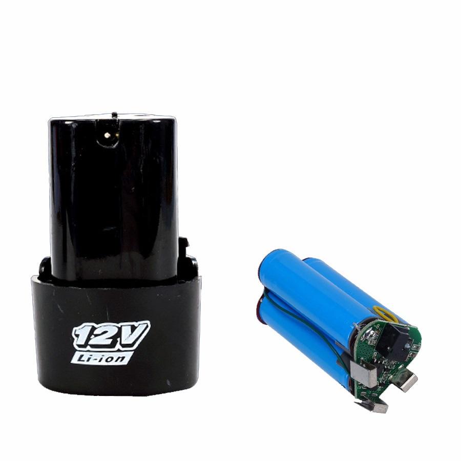 Bộ chế pin 3S 11.1-12.6V cho máy khoan