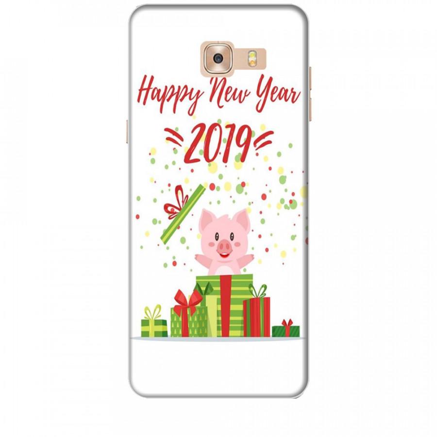 Ốp lưng dành cho điện thoại  SAMSUNG GALAXY C9 PRO Happy New Year Mẫu 3