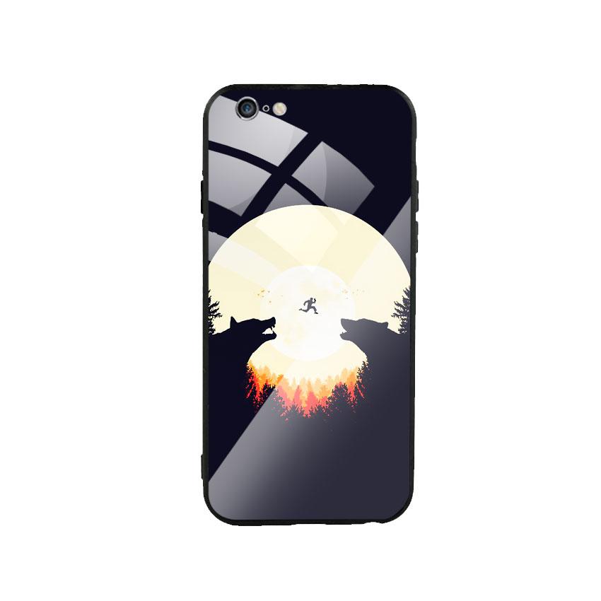 Ốp Lưng Kính Cường Lực cho điện thoại Iphone 6 Plus / 6s Plus -  Moon 05
