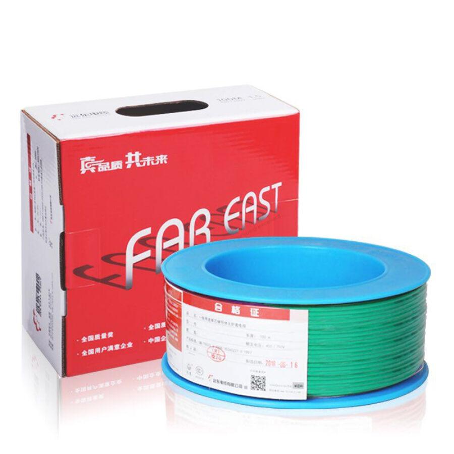 Dây Cáp Dân Dụng 1 Lõi Đồng Far East Cable BV2.5 (100m)