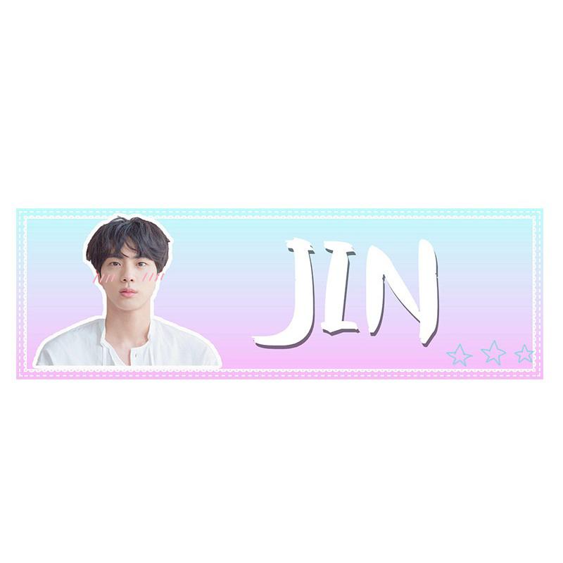 Banner cầm tay JIN BTS - 1966016 , 6294064503193 , 62_14797062 , 60000 , Banner-cam-tay-JIN-BTS-62_14797062 , tiki.vn , Banner cầm tay JIN BTS