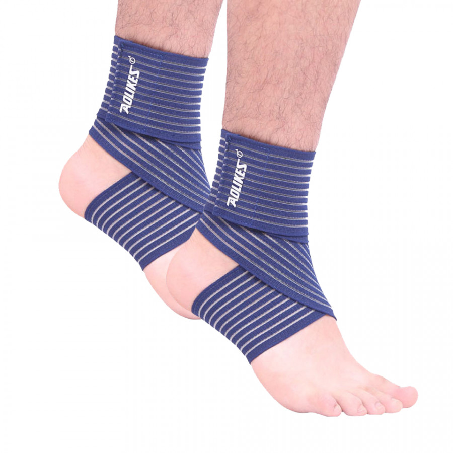 Bộ 2 Băng Quấn Cổ Chân Đàn Hồi Hỗ Trợ Bảo Vệ Mắt Cá Chân Khi Chơi Thể Thao Sport Ankle Support AOLIKES YE-1520