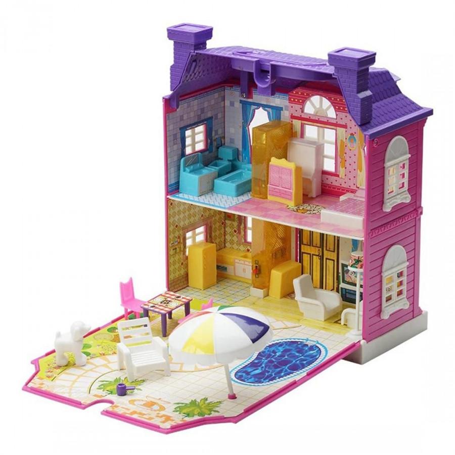 Children Play Toys Simulation Luxury Villa Doll House 897 (High)