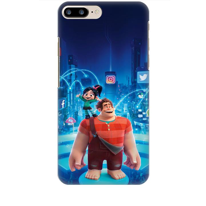 Ốp lưng dành cho điện thoại IPHONE 7 PLUS hình Big Hero Mẫu 01