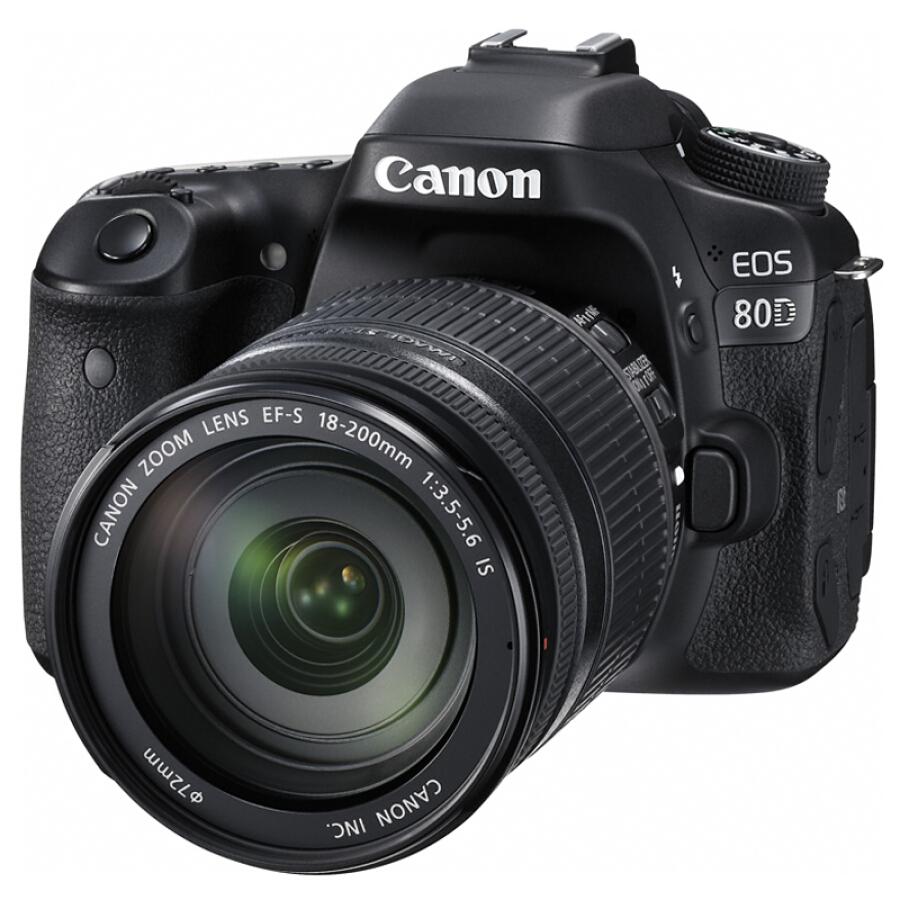 Máy Ảnh Canon EOS 80D SRL (EF-S 18-200mm f / 3.5-5.6 IS) - Hàng nhập khẩu