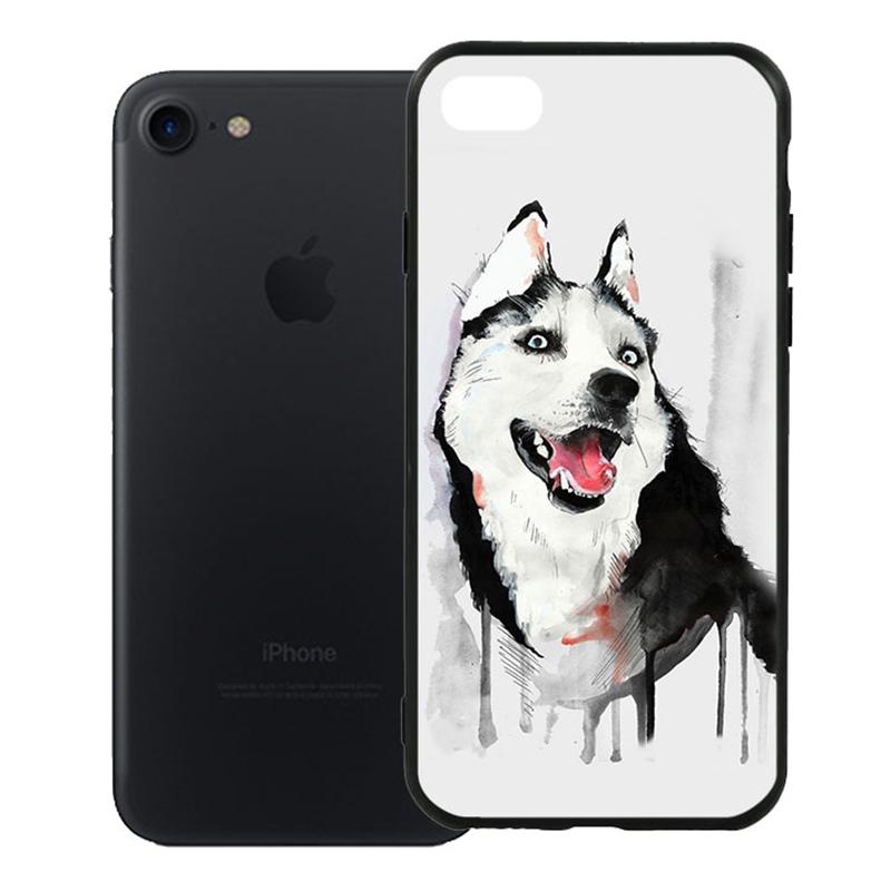 Ốp Lưng Viền TPU Cao Cấp Dành Cho iPhone 7 - Hurky 01