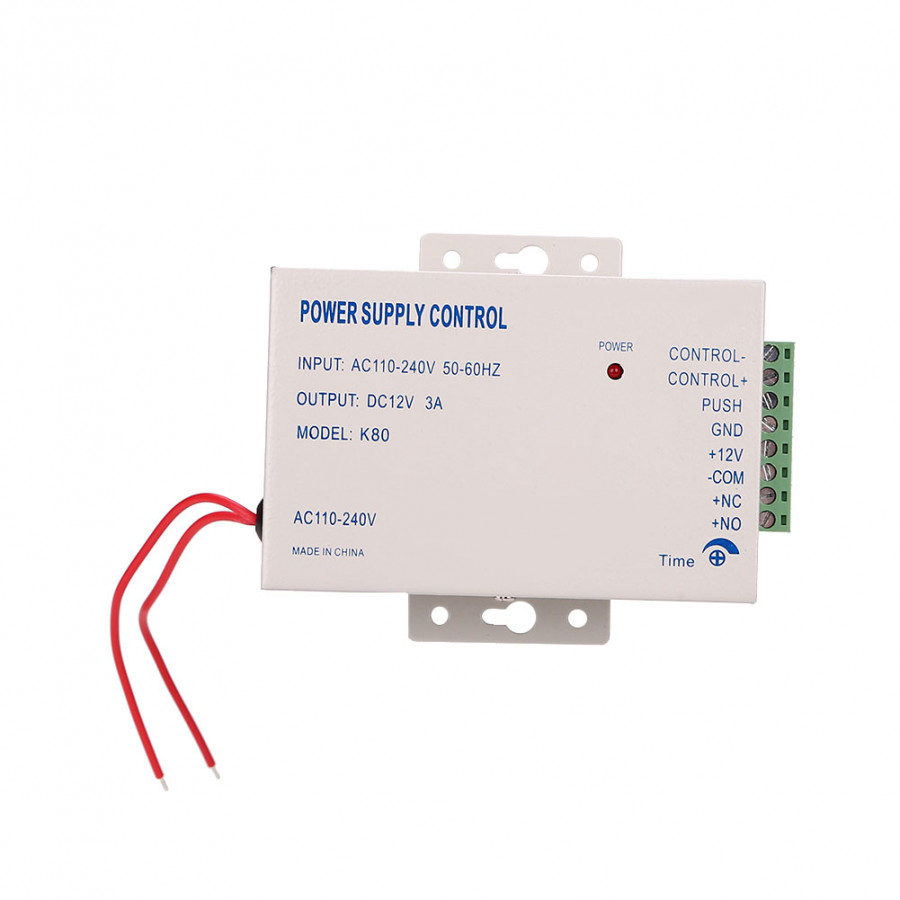 Door Access Control Switch Electric Power Supply Kit DC-12V 3A 30W AC 110-240V - 1791947 , 4689573454227 , 62_13177867 , 611000 , Door-Access-Control-Switch-Electric-Power-Supply-Kit-DC-12V-3A-30W-AC-110-240V-62_13177867 , tiki.vn , Door Access Control Switch Electric Power Supply Kit DC-12V 3A 30W AC 110-240V