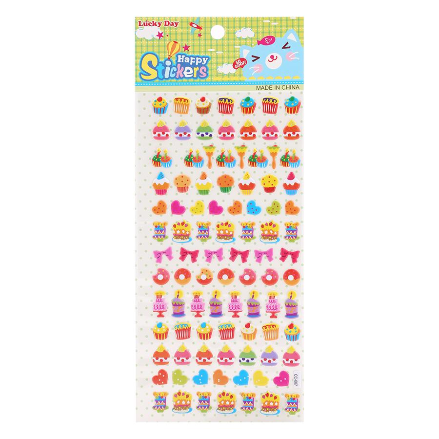 Sticker Dán Nổi Cho Bé - CC007 - 18643744 , 2545142991079 , 62_23175115 , 15000 , Sticker-Dan-Noi-Cho-Be-CC007-62_23175115 , tiki.vn , Sticker Dán Nổi Cho Bé - CC007