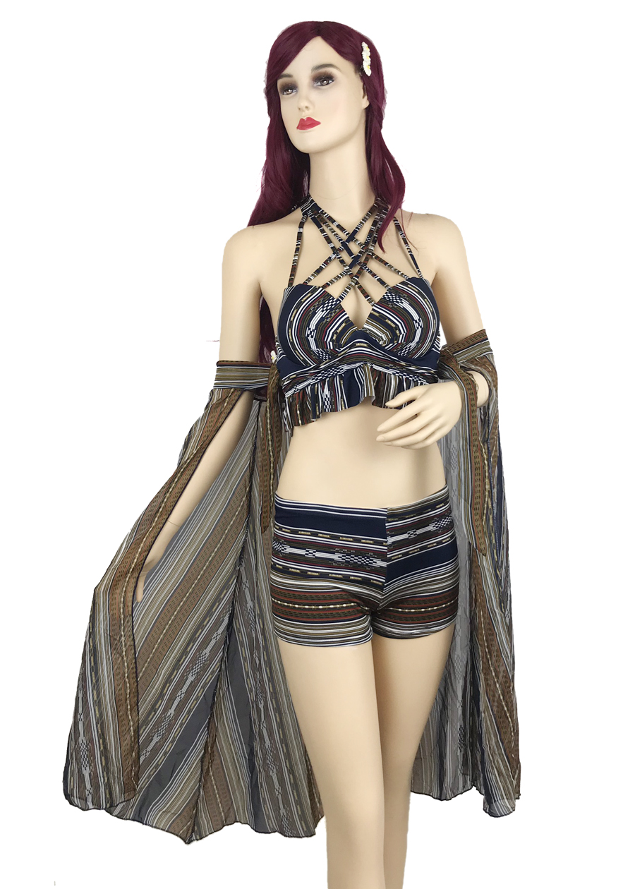 Set bikini 2 mảnh đan dây ngực kèm khăn choàng voan - ZB19 - 1879638 , 2263293778676 , 62_14350688 , 410000 , Set-bikini-2-manh-dan-day-nguc-kem-khan-choang-voan-ZB19-62_14350688 , tiki.vn , Set bikini 2 mảnh đan dây ngực kèm khăn choàng voan - ZB19