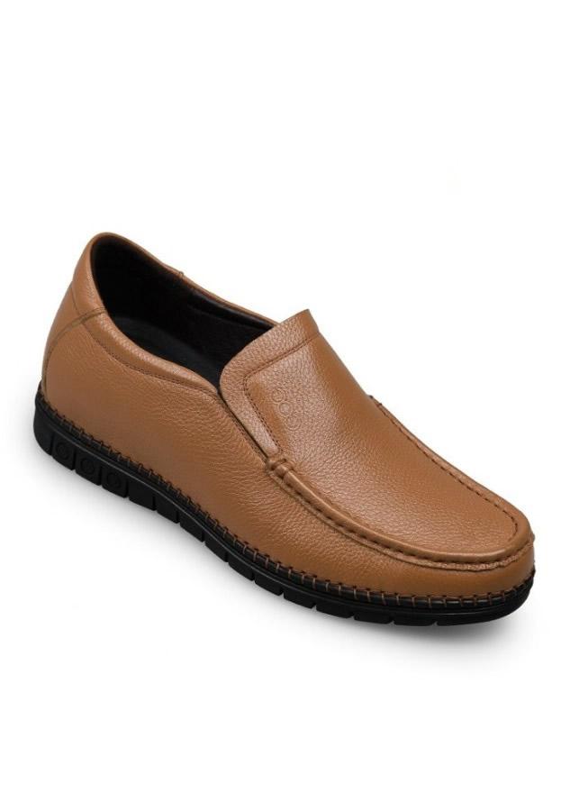 Giày nâng đế cho nam GOG 88826 nâu
