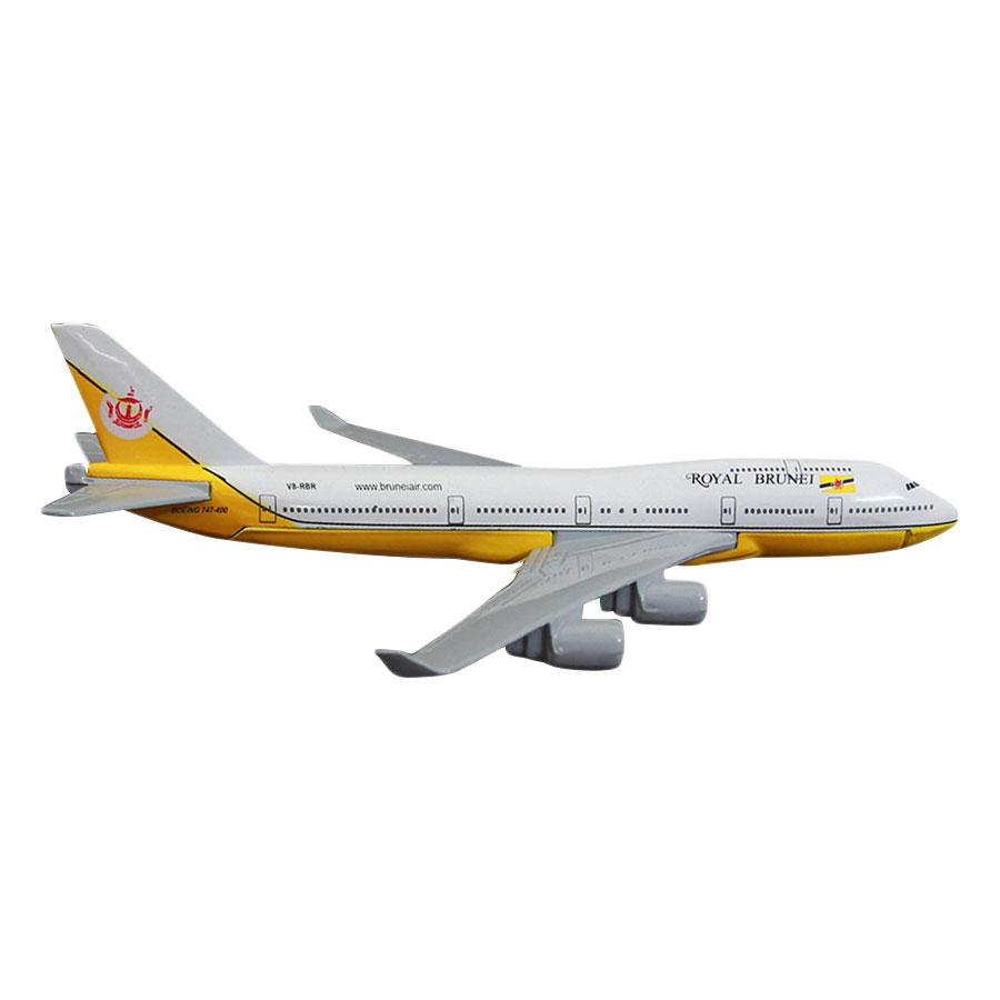 Mô Hình Máy Bay Trưng Bày Boeing 747 Royal Brunei Everfly (Vàng) - 885427 , 8438598354656 , 62_1474537 , 229000 , Mo-Hinh-May-Bay-Trung-Bay-Boeing-747-Royal-Brunei-Everfly-Vang-62_1474537 , tiki.vn , Mô Hình Máy Bay Trưng Bày Boeing 747 Royal Brunei Everfly (Vàng)