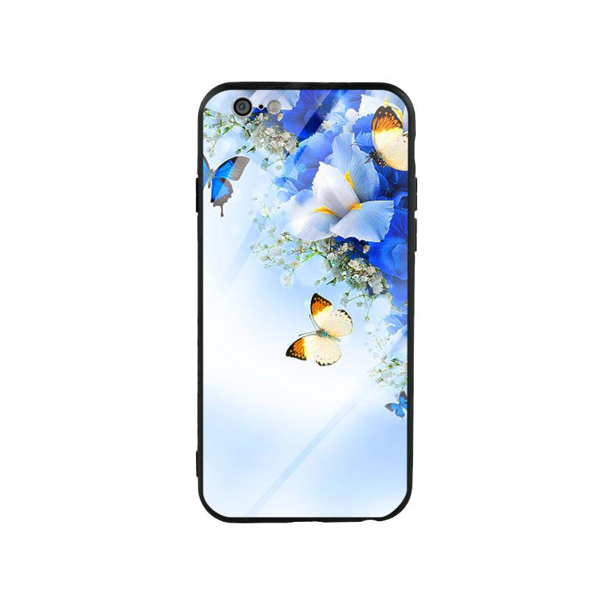 Ốp lưng kính cường lực cho điện thoại Iphone 6/6s - Butterfly 04