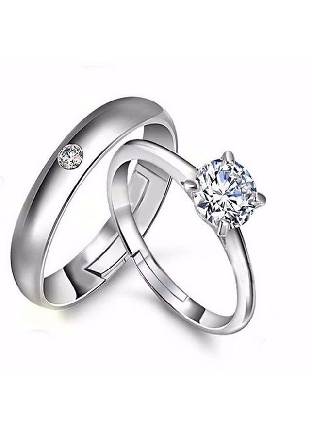 Nhẫn đôi bạc 925 QTJ ND72 - 18362492 , 2714791121476 , 62_10840539 , 499000 , Nhan-doi-bac-925-QTJ-ND72-62_10840539 , tiki.vn , Nhẫn đôi bạc 925 QTJ ND72