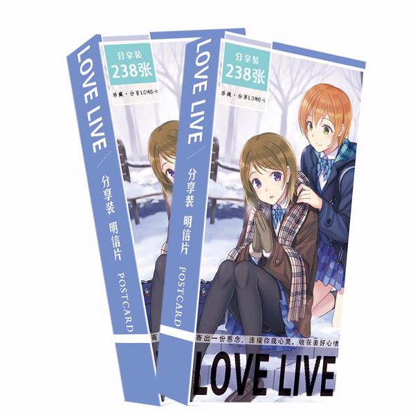 Postcard Love live bộ 238 hình mùa đông