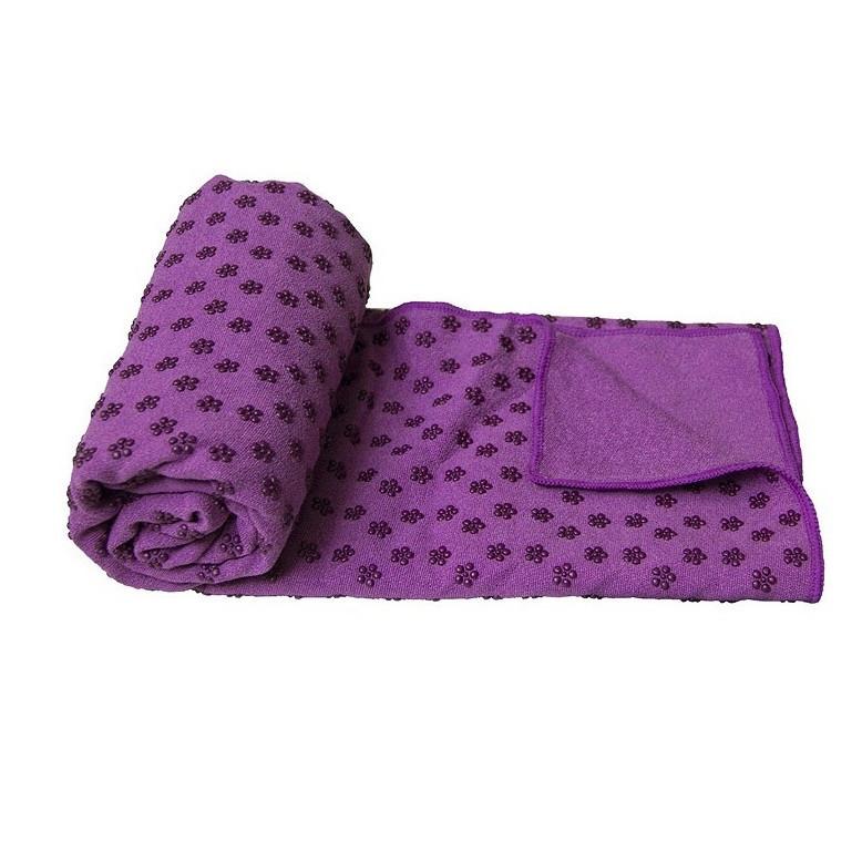 Khăn trải thảm yoga hạt cao su non (kèm túi đựng)