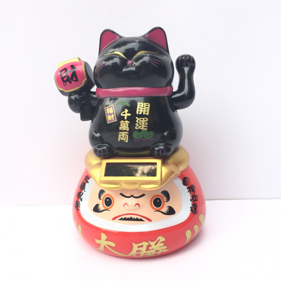 Mèo thần tài vẫy tay màu đen pin năng lượng mặt trời - 1846585 , 7649674076824 , 62_13958028 , 200000 , Meo-than-tai-vay-tay-mau-den-pin-nang-luong-mat-troi-62_13958028 , tiki.vn , Mèo thần tài vẫy tay màu đen pin năng lượng mặt trời