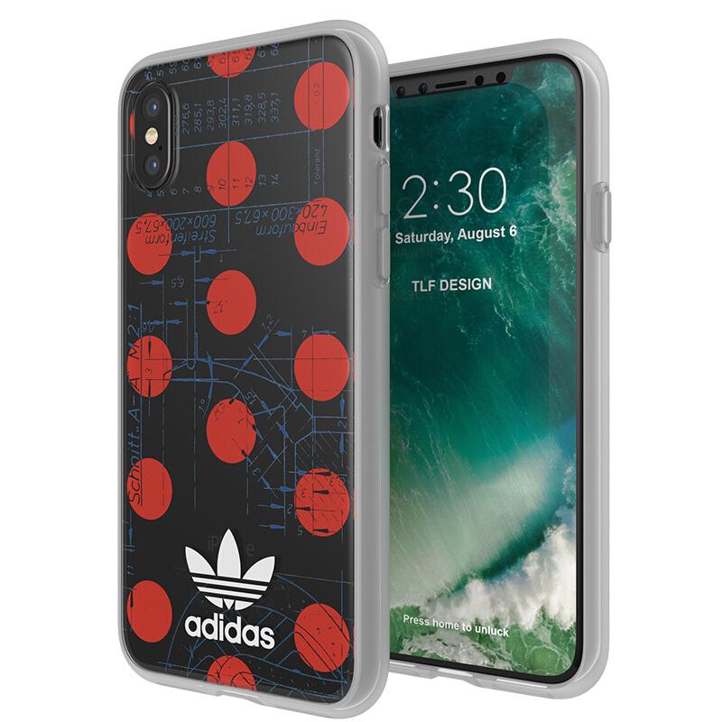 Ốp Lưng Thời Trang Chống Trượt Adidas dành cho Iphone X